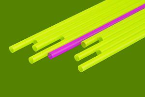 Pop Straws Collection - Green & Pink by Philippe Hugonnard