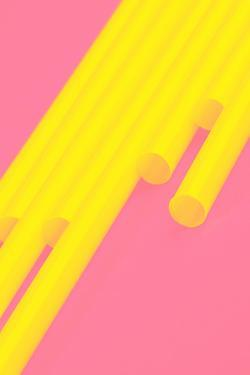 Pop Straws Collection - Pink & Yellow by Philippe Hugonnard