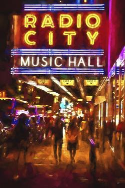 Radio City Music Hall by night by Philippe Hugonnard