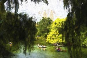 Relaxing at Central Park by Philippe Hugonnard