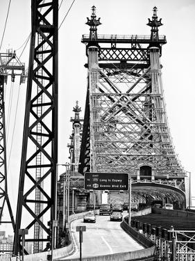 "Road Traffic Exit on ""59th Street Bridge"" (Queensboro Bridge), Manhattan Downtown, NYC by Philippe Hugonnard"