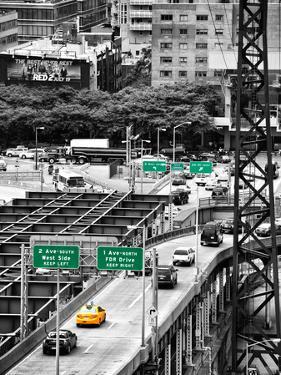 "Road Traffic on ""59th Street Bridge"" (Queensboro Bridge), Manhattan Downtown, NYC by Philippe Hugonnard"