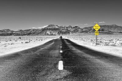 Road view - Death Valley National Park - California - USA - North America by Philippe Hugonnard