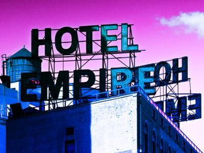 Rooftop, Hotel Empire, Footsteps of Gossip Girls in NYC, Upper West Side of Manhattan, New York by Philippe Hugonnard