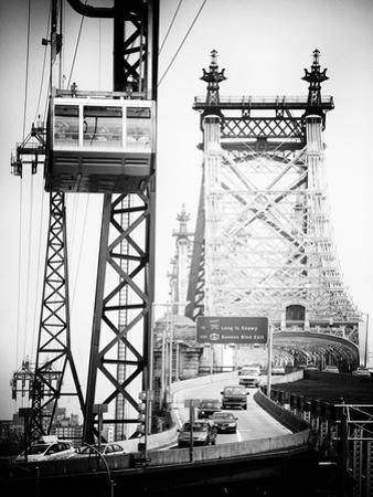 Roosevelt Island Tram and Ed Koch Queensboro Bridge (Queensbridge), Manhattan, New York City by Philippe Hugonnard
