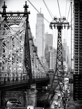 Roosevelt Island Tram and Ed Koch Queensboro Bridge (Queensbridge) Views, Manhattan, New York by Philippe Hugonnard