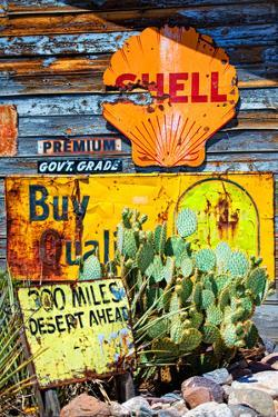 Route 66 - advertising - Arizona - United States by Philippe Hugonnard