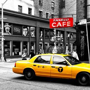 Safari CityPop Collection - New York Yellow Cab in Soho III by Philippe Hugonnard