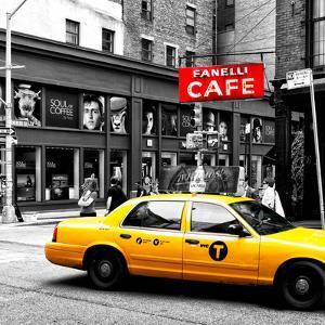 Safari CityPop Collection - New York Yellow Cab in Soho III by Philippe Hugonnard