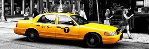 Safari CityPop Collection - New York Yellow Cab in Soho VI by Philippe Hugonnard