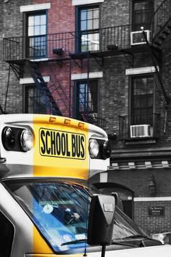 School bus - New York - United States by Philippe Hugonnard