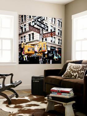 Signpost, Broadway, Manhattan, New York City, United States by Philippe Hugonnard
