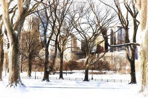 Snow in Central Park III by Philippe Hugonnard