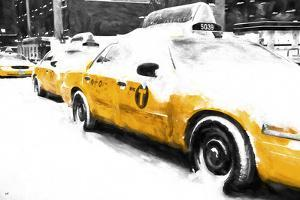 Snowy Taxis by Philippe Hugonnard