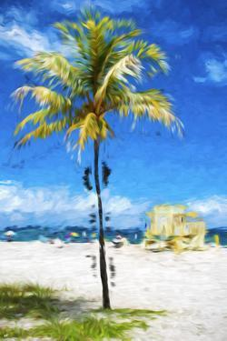 South Beach Miami II - In the Style of Oil Painting by Philippe Hugonnard