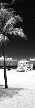 South Miami Beach Landscape with Life Guard Station - Florida - USA by Philippe Hugonnard