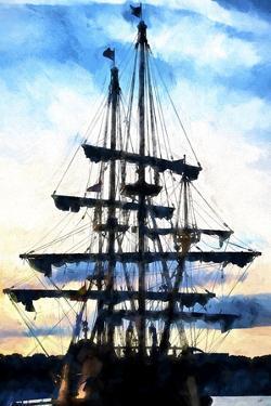 Spanish Galleon 17th by Philippe Hugonnard