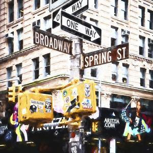 Spring to Broadway by Philippe Hugonnard