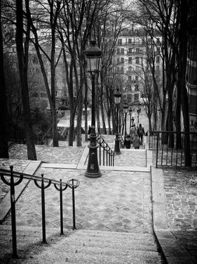 Staircase Montmartre - Paris - France by Philippe Hugonnard