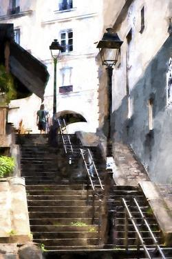 Staircase Montmartre by Philippe Hugonnard