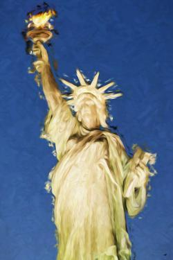 Statue of Liberty - In the Style of Oil Painting by Philippe Hugonnard