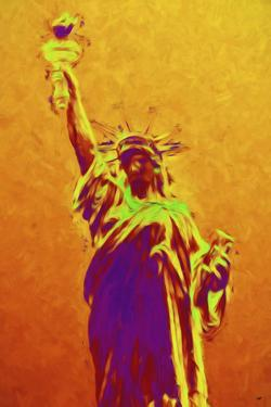 Statue of Liberty IV - In the Style of Oil Painting by Philippe Hugonnard