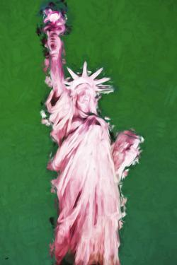 Statue of Liberty VII - In the Style of Oil Painting by Philippe Hugonnard