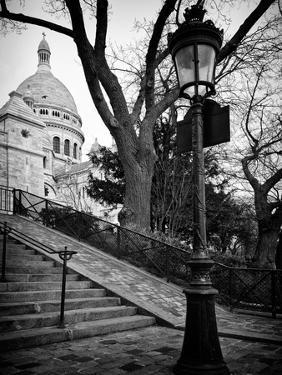 Steps to the Place du Sacré Cœur - Montmartre - Paris - France by Philippe Hugonnard