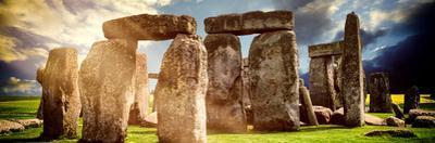 Stonehenge - Abstract of Stones - Wiltshire - UK - England - United Kingdom - Europe