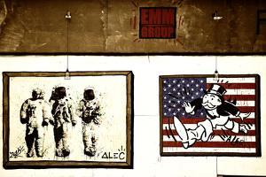Street Art - Alec - Manhattan - New York - United States by Philippe Hugonnard
