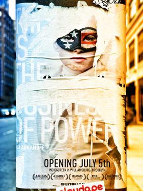 Street Art, Trendy Advertising, Manhattan, Brooklyn, New York, Dual Colors by Philippe Hugonnard