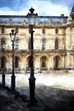 Street Royal Lamps Le Louvre by Philippe Hugonnard