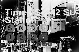 Subway and City Art - Times Square - 42 Street Station by Philippe Hugonnard