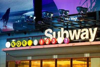 Subway Stations - Manhattan - New York City - United States by Philippe Hugonnard