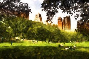 Summer in Central Park by Philippe Hugonnard