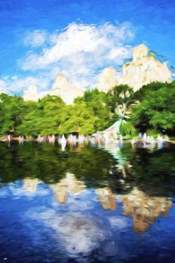 Summer Reflections - In the Style of Oil Painting by Philippe Hugonnard