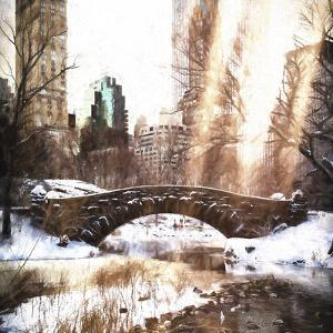 Sunlight on Central Park by Philippe Hugonnard