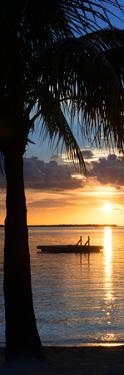 Sunset Landscape with Floating Platform - Miami - Florida by Philippe Hugonnard