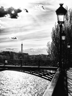 Sunset - Pont des Arts - Paris - France by Philippe Hugonnard