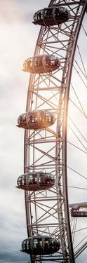 The Millennium Wheel / London Eye - City of London - UK - England - United Kingdom - Door Poster by Philippe Hugonnard