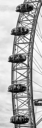 The Millennium Wheel / London Eye - City of London - UK - England - United Kingdom - Door Poster