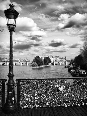 The Seine River - Pont des Arts - Paris by Philippe Hugonnard