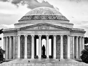 The Thomas Jefferson Memorial, Washington D.C, District of Columbia, Black and White Photography by Philippe Hugonnard