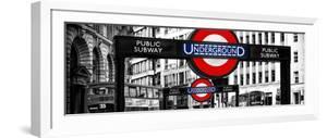 The Underground Signs - Subway Station Sign - City of London - UK - England - United Kingdom by Philippe Hugonnard