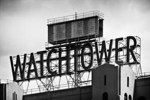 The Watchtower, Brooklyn, Manhattan, New York, White Frame, Full Size Photography by Philippe Hugonnard