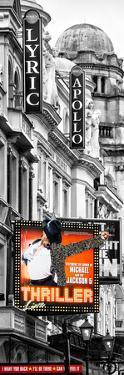 Thriller Live Lyric Theatre London - Celebration of Michael Jackson - UK - Photography Door Poster by Philippe Hugonnard