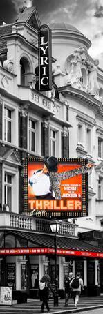 Thriller Live Lyric Theatre London - Celebration of Michael Jackson - UK - Photography Door Poster by Philippe Hugonnard