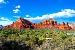 Thunder Mountains - Sedona - Arizona - United States by Philippe Hugonnard
