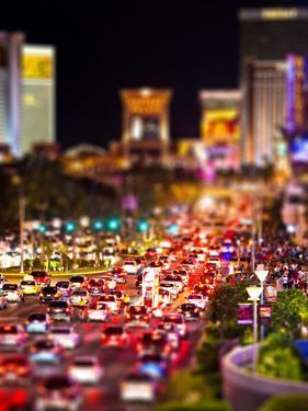 Tilt Shift Series, Strip, Las Vegas, Nevada, United States by Philippe Hugonnard