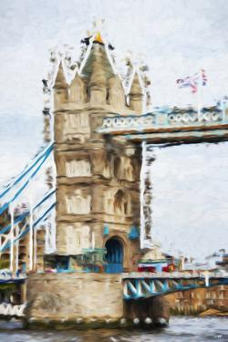 Tower Bridge - In the Style of Oil Painting by Philippe Hugonnard